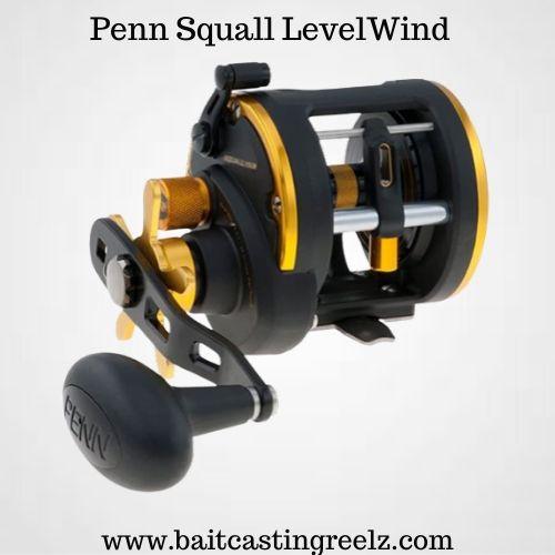 Penn Squall Levelwind - best saltwater baitcasting reel