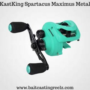 Kastking Spartacus Maximus Metal - best baitcaster for saltwater