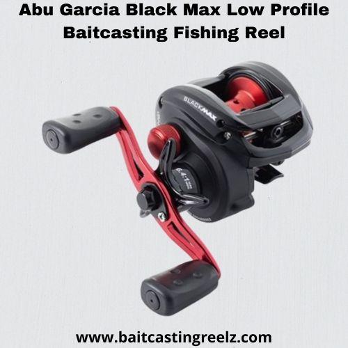 abu garcia black max - best baitcasting reel under 100