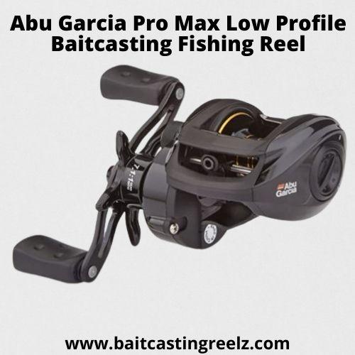 Abu Garcia Pro Max Low Profile Baitcasting Fishing Reel - best for beginners