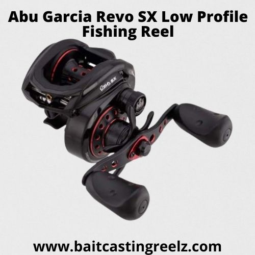 Abu Garcia Revo SX Low Profile Fishing Reel - Best low profile Under 200