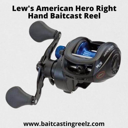 Lew's American Hero 6.41 Right Hand Baitcast Reel - best for beginners
