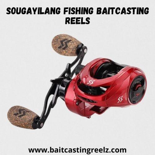 Sougayilang Fishing Baitcasting Reels - bass catching reel