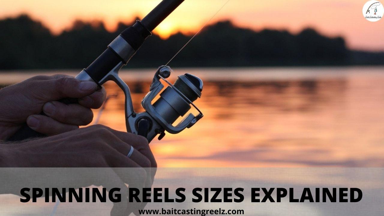 spinning reel sizes