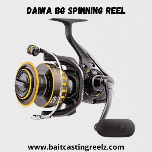 Daiwa Bg Spinning Reel - best fishing spinning reel