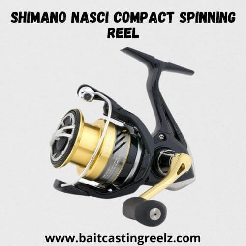 SHIMANO NASCI Compact Spinning Reel - Fishing Reel Under $150
