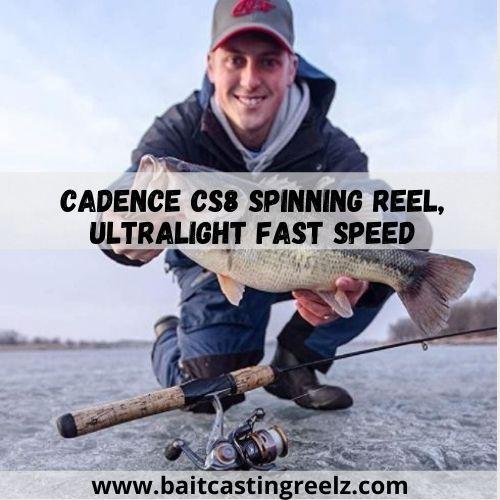 Cadence CS8 Spinning Reel, Ultralight Fast Speed