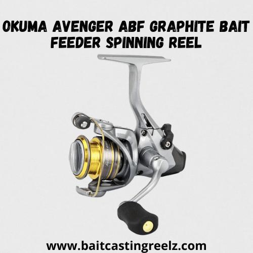 Okuma Avenger ABF Graphite Bait Feeder Spinning Reel