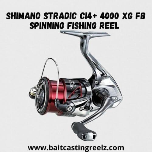 Shimano Stradic Ci4+ 4000 XG FB Spinning Fishing Reel