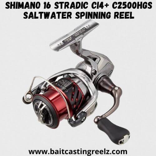 Shimano 16 Stradic CI4+ C2500HGS Saltwater Spinning Reel
