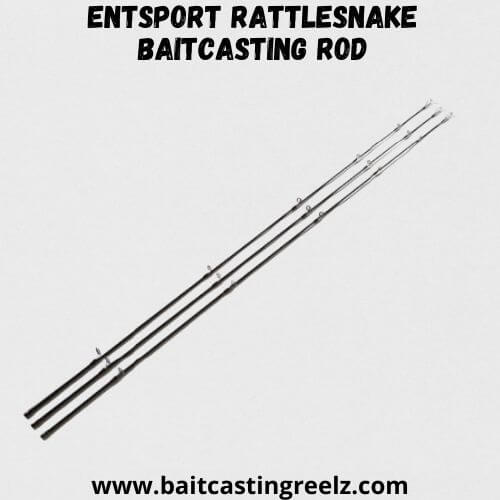 Entsport Rattlesnake Baitcasting Rod