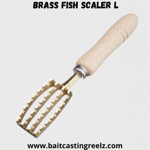 Brass Fish Scaler L
